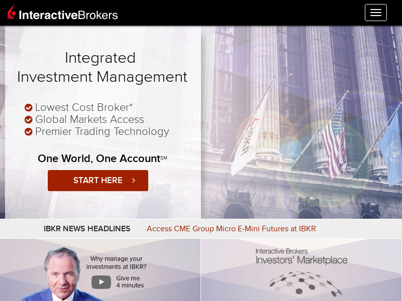 Lowest Cost Online Trading and Investing   Interactive Brokers