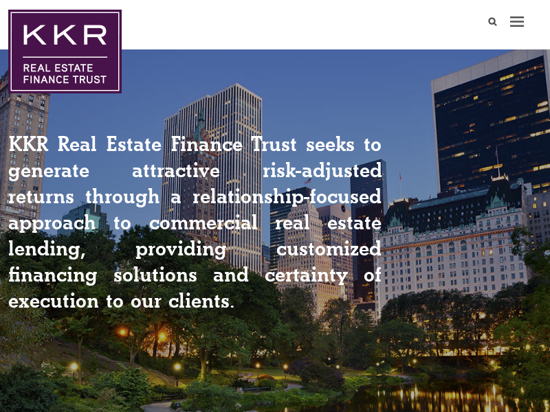 KKR Real Estate Finance Trust Inc.