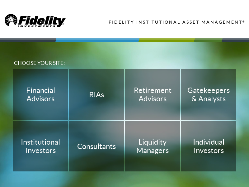 Fidelity Institutional Asset Management