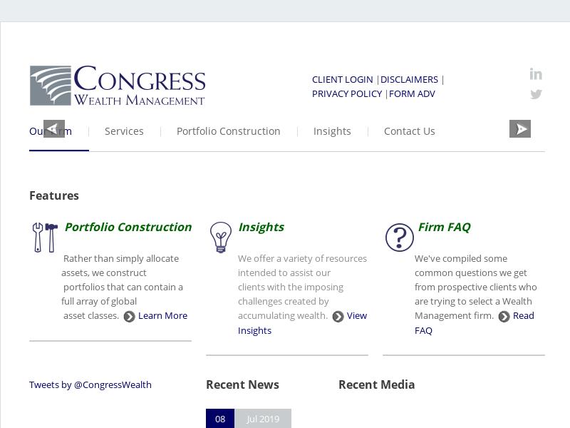 Congress Wealth Management, Boston MA