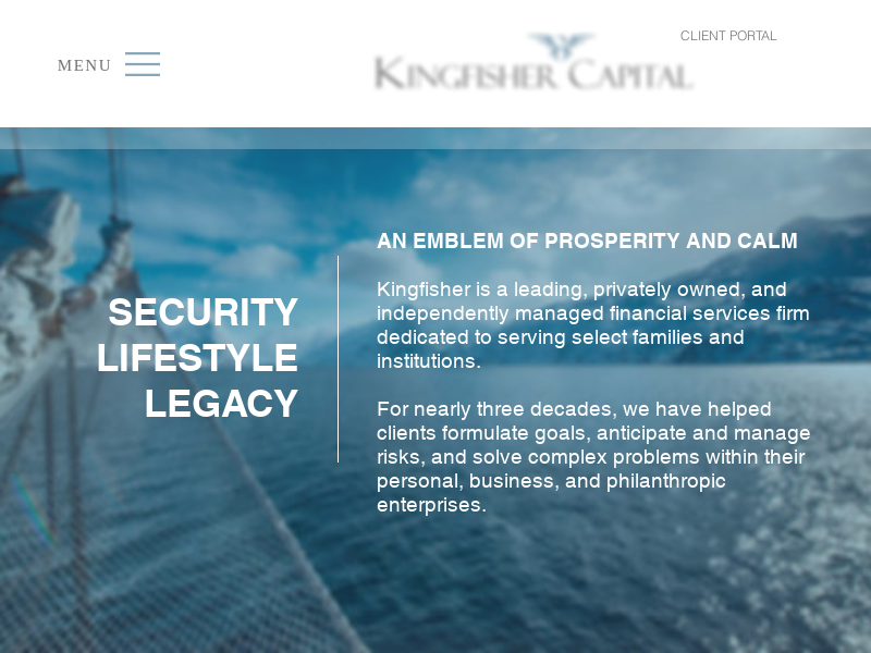 Kingfisher Capital | Charlotte, NC Investment Management Services