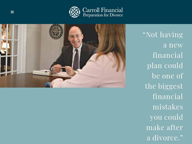 Carroll Financial | Divorce Advisors & Planning | Cincinnati |