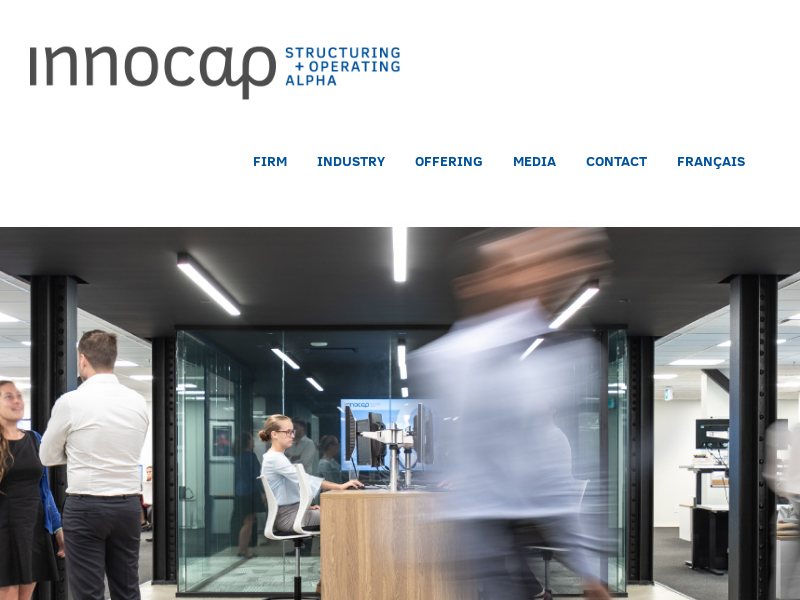 INNOCAP – Managed Account Platform – Structuring + Operating Alpha