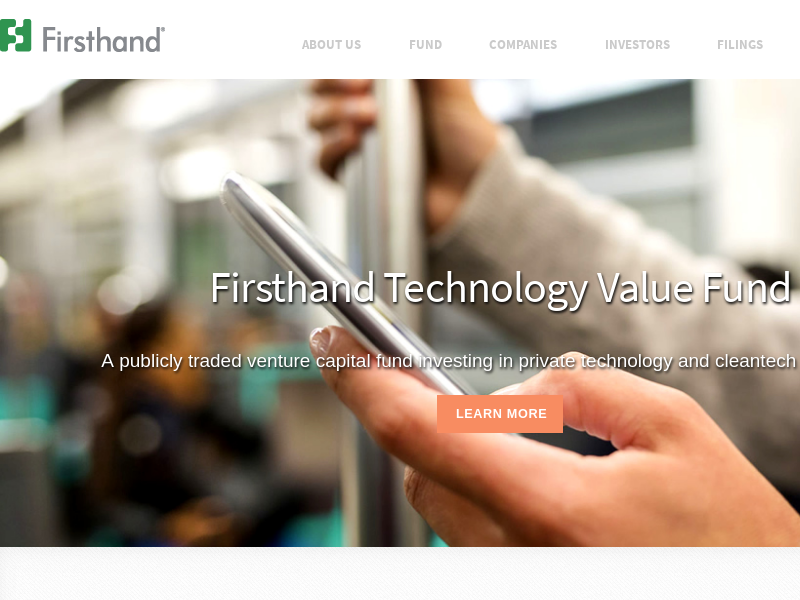 Firsthand Technology Value Fund, Inc.