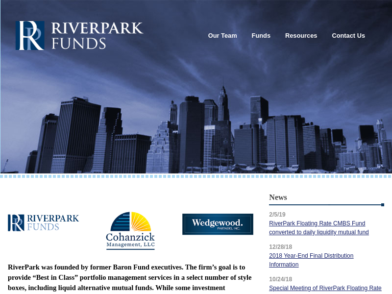 Home - RiverPark Funds