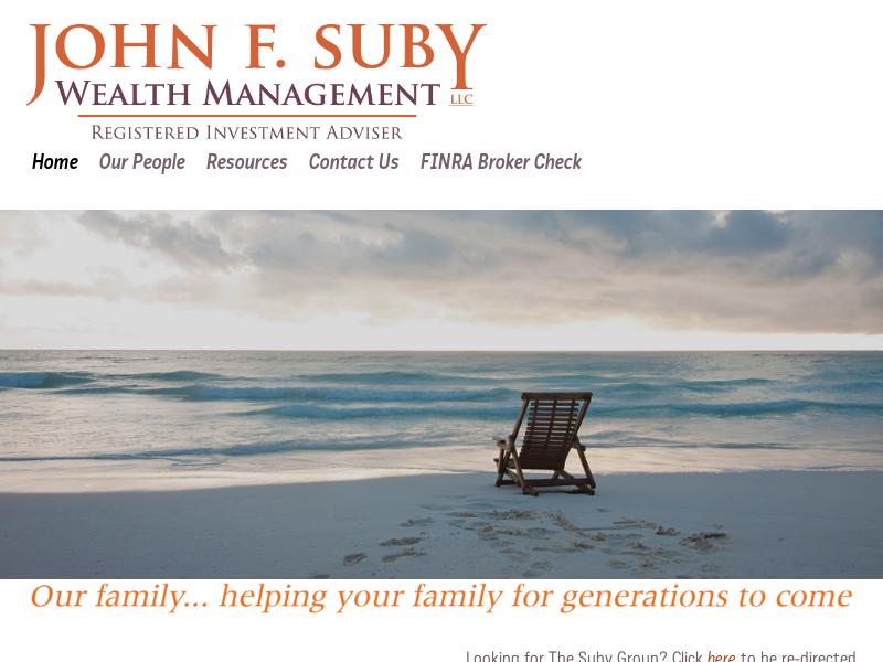 John F. Suby Wealth Management