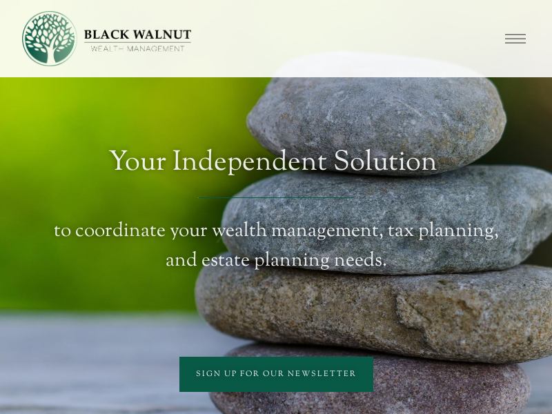 Black Walnut Wealth Management | Traverse City Wealth Management Firm — Black Walnut Wealth Management