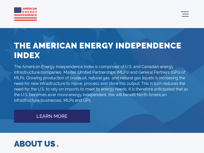 THE AMERICAN ENERGY INDEPENDENCE INDEX