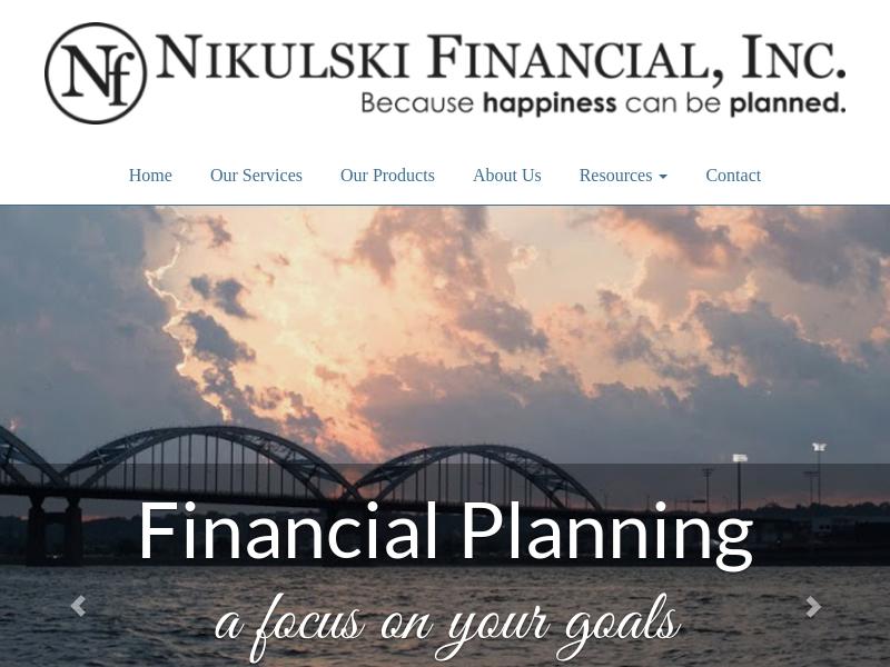 Home | Nikulski Financial, Inc.