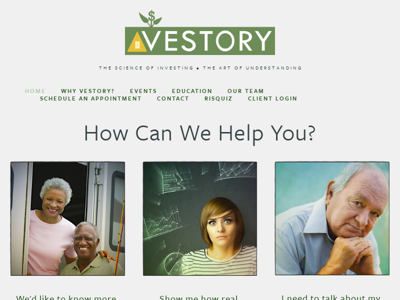 Vestory Seattle and Bellevue Fee-Only Investment Advisor