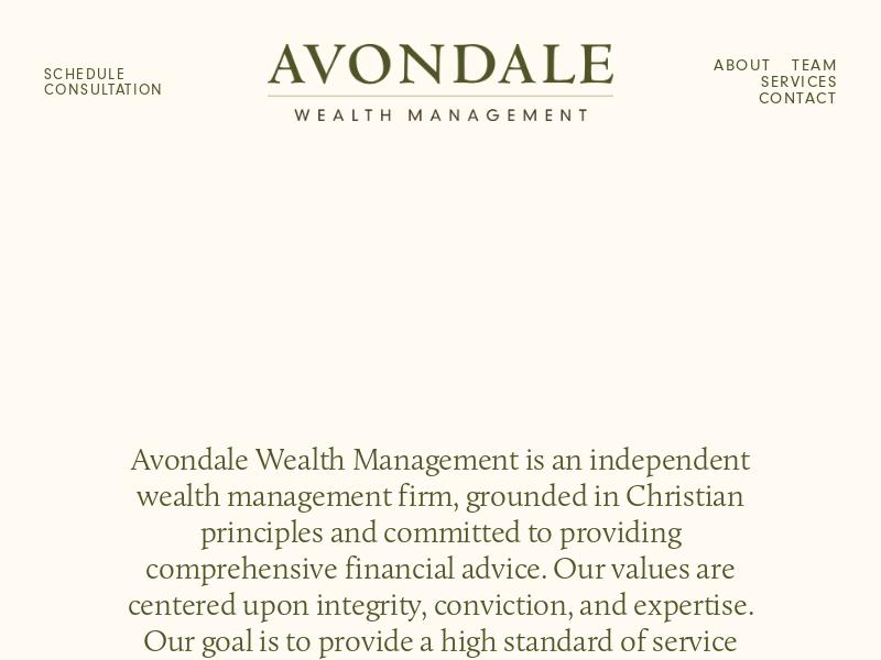 Avondale Wealth Management