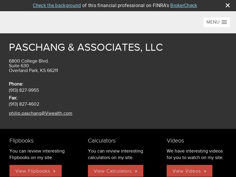 Phil Paschang - www.philpaschang.com