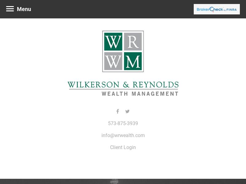 Home | Wilkerson & Reynolds Wealth Management