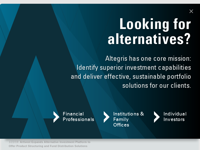 Altegris |Alternative Investments | Mutual Funds | Private Funds