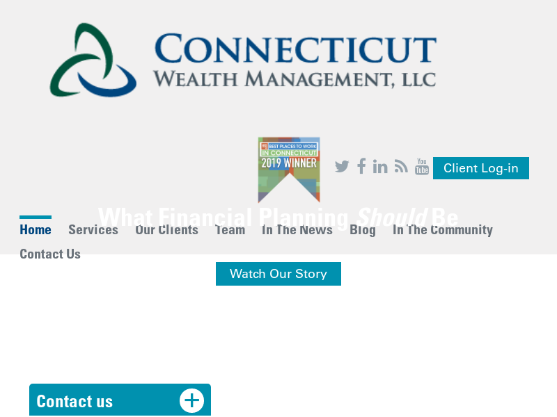 Home | Connecticut Wealth Management, LLC