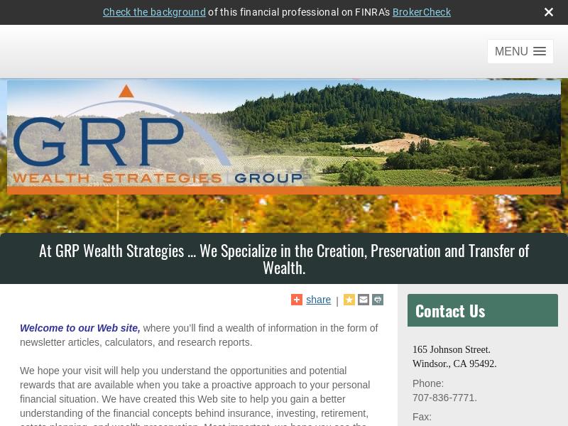GRP Wealth Strategies