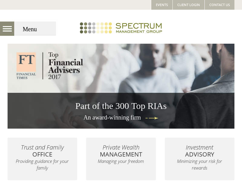 Spectrum Management Group | Indianapolis Financial Advisors | Private Wealth Management