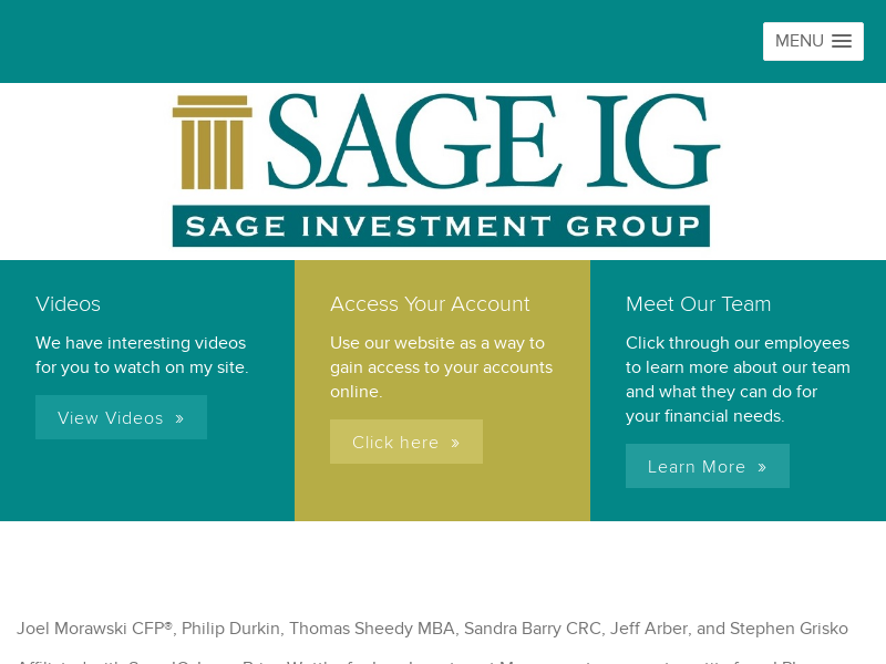 Sage Investment Group