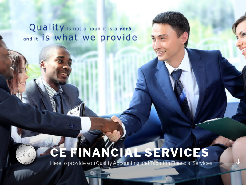 CE Financial Services – Here to provide you Quality Accounting and Taxation Financial Services
