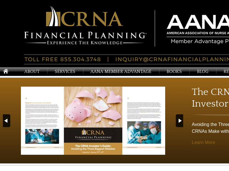 Financial Planning For Certified Registered Nurse Anesthetists