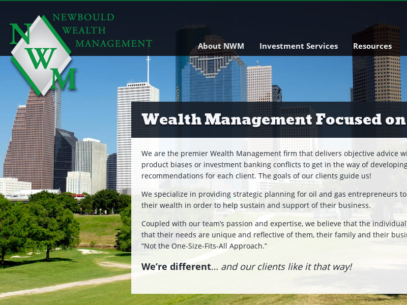 Wealth Management Focused on You. | Newbould Wealth ManagmentNewbould Wealth Managment