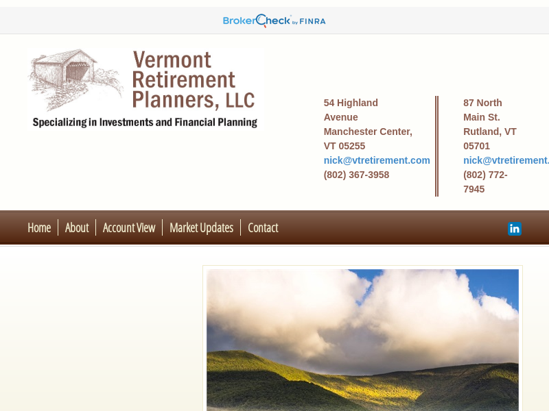 Home | Vermont Retirement Planners, LLC