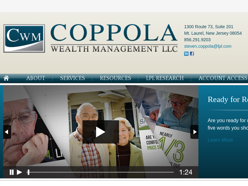 Coppola Wealth Management: Retirement and Income planning in New Jersey
