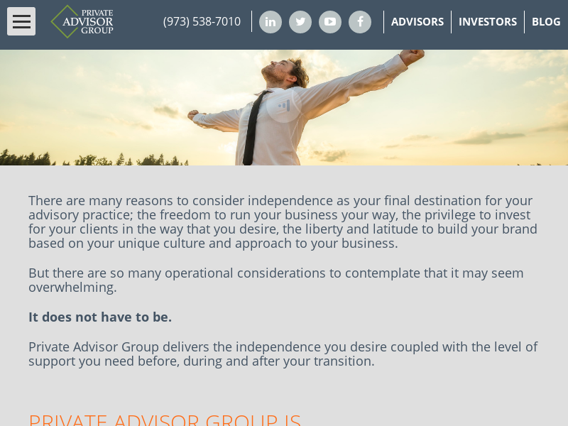 Independent Financial Advisor | Private Advisor Group