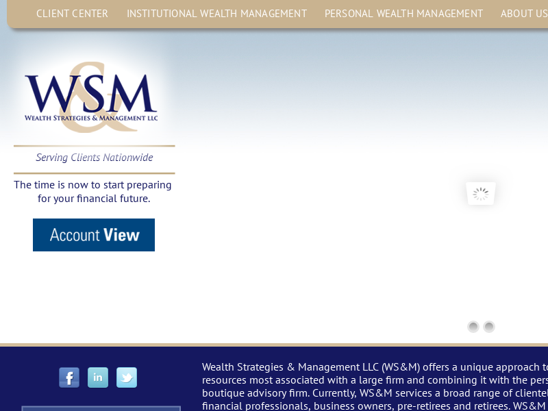 Wealth Strategies & Management LLC. Preparing Your Financial Future.
