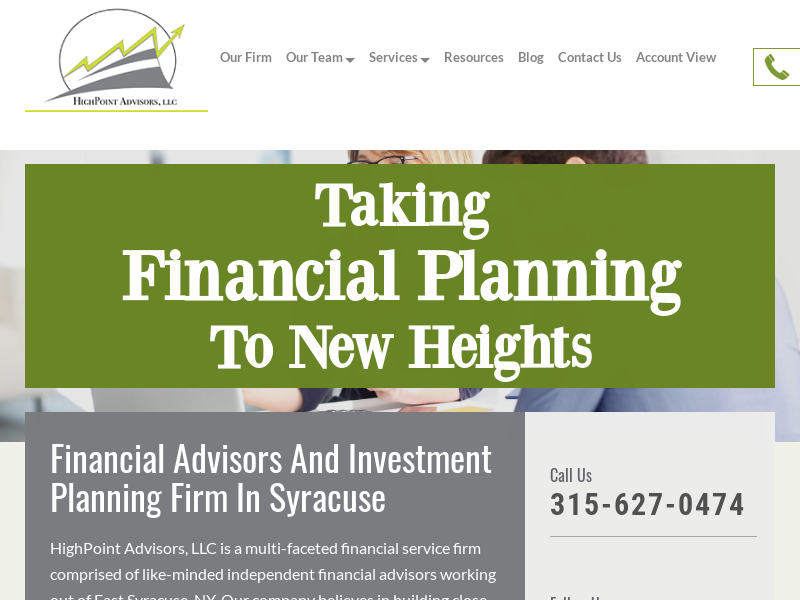 Financial And Investment Planning - HighPoint Advisors, LLC
