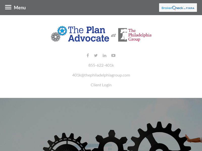 The Plan Advocate at The Philadelphia Group | Home