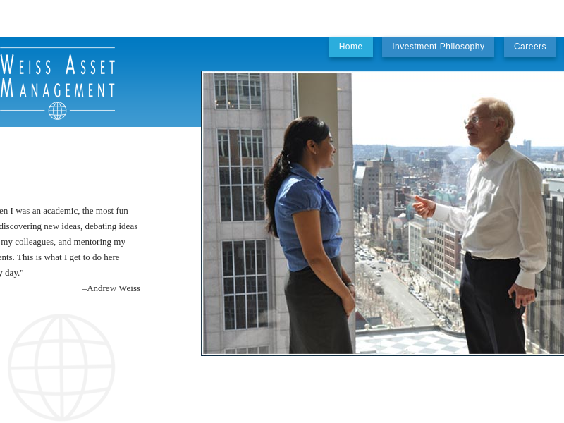 Home page -   Weiss Asset Management LP Careers