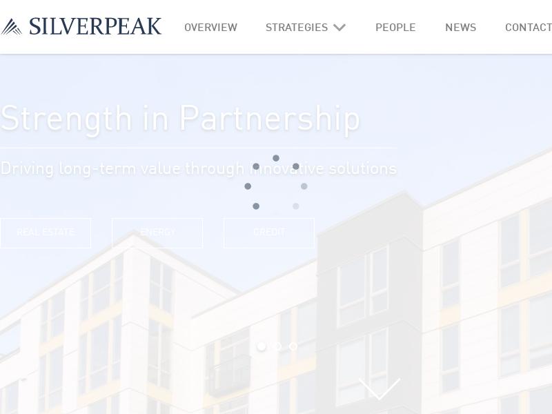 Silverpeak   Investment in Real Estate, Energy, & Credit