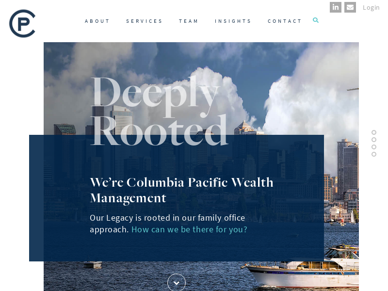 Home - Columbia Pacific Wealth Management