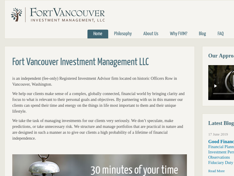 Fort Vancouver Investment Management | Vancouver, WA