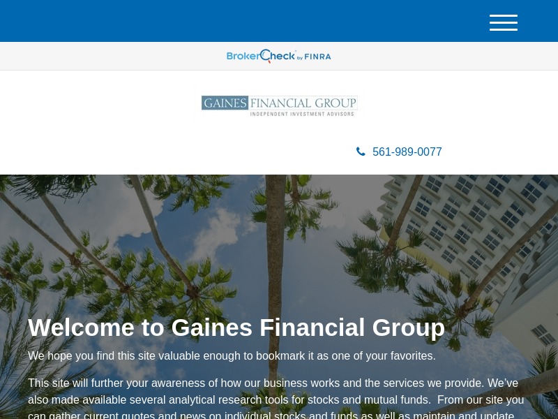 Home | Gaines Financial Group