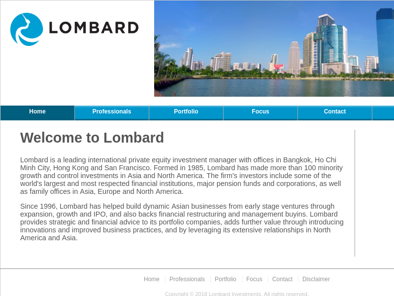 Lombard Investments - Private Equity Manager in Southeast Asia