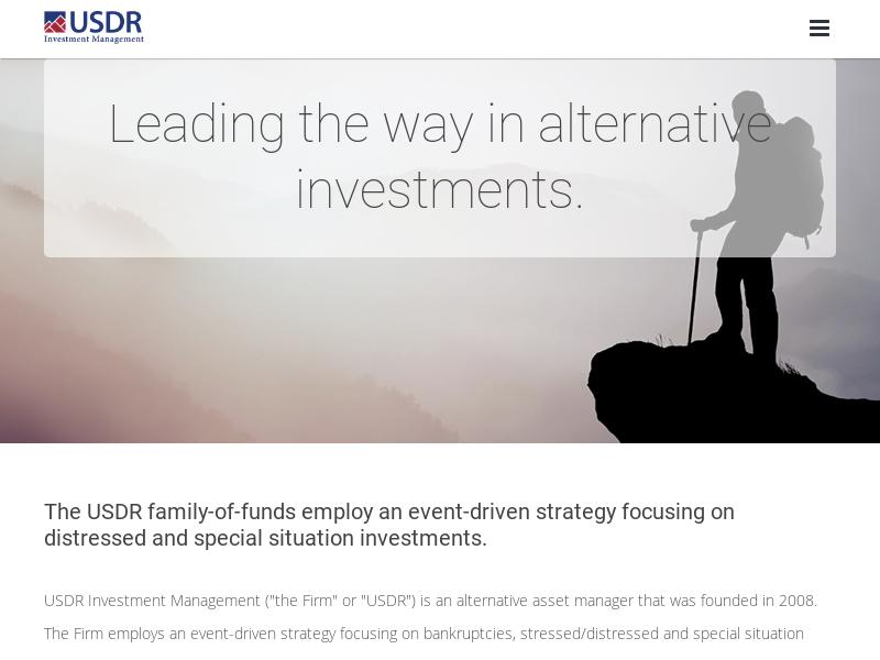 USDR   Alternative Investment Funds