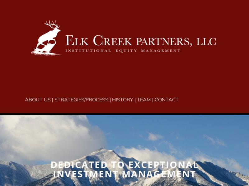 Home - Elk Creek Partners