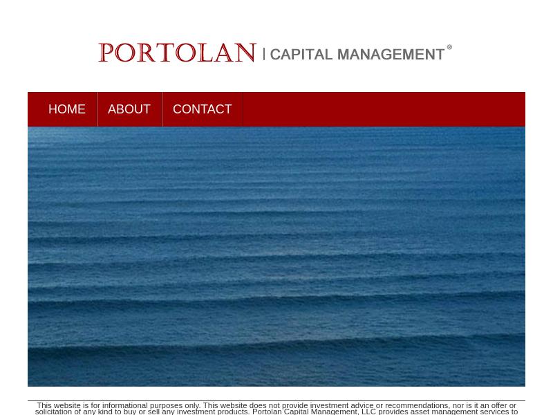 Portolan | Capital Management