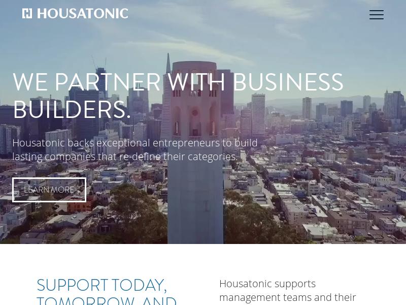 Home | Housatonic Partners