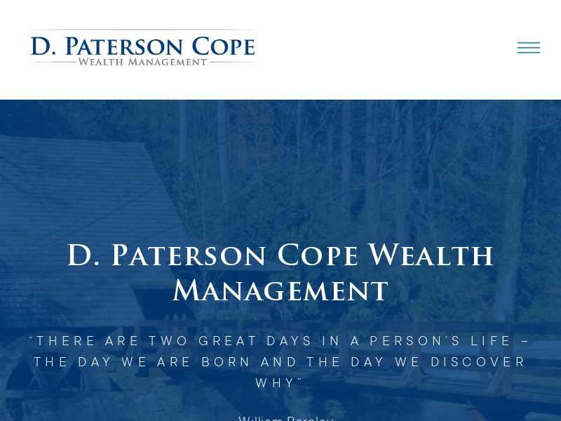 D. Paterson Cope Wealth Management