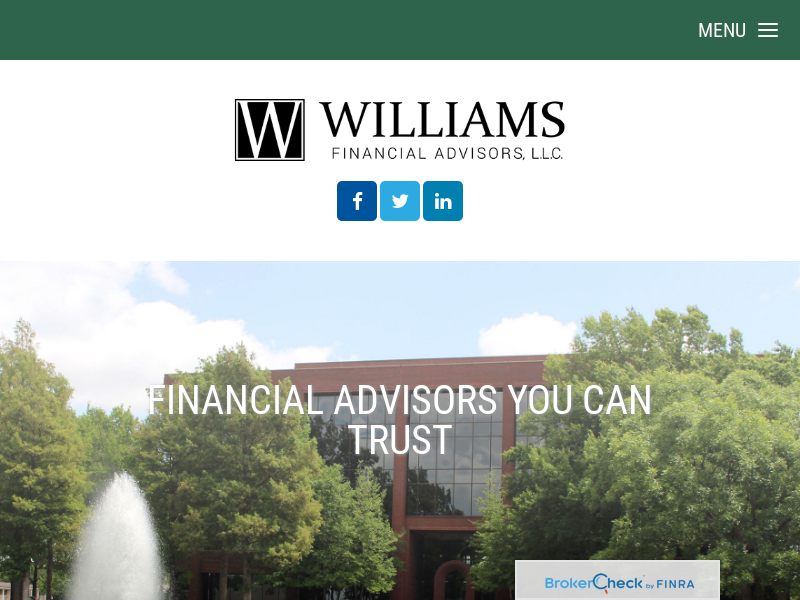 Home | Williams Financial Advisors
