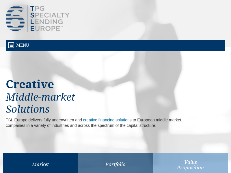 TPG Specialty Lending Europe :: Home