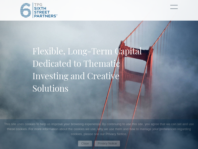 Home - TSSP | TPG Sixth Street Partners