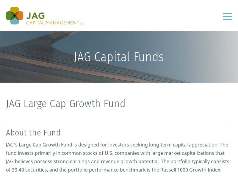 JAG Large Cap Growth Fund | JAG Capital Funds