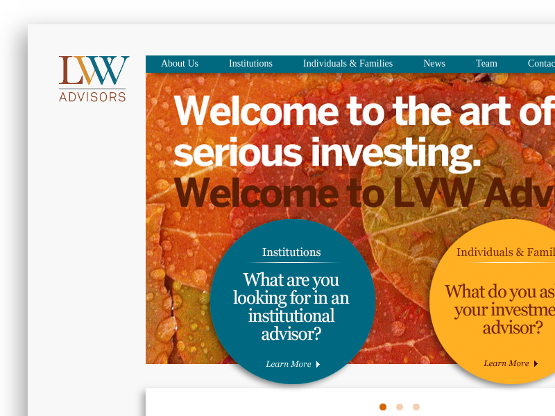 LVW Advisors | Independent Investment Advisor    LVW Advisors