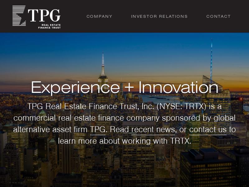 TPG Real Estate Finance Trust