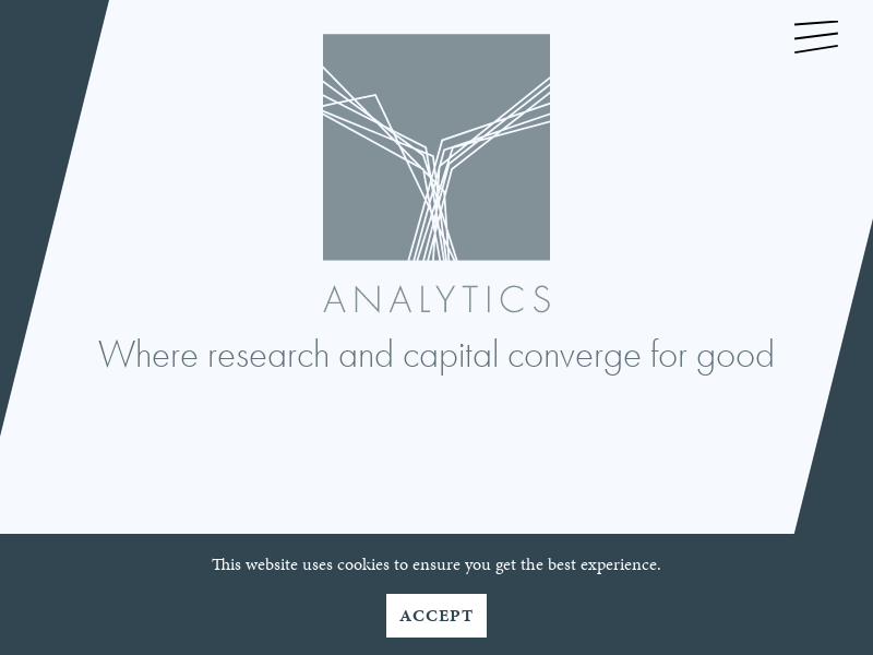Where research and capital converge for good | Y Analytics