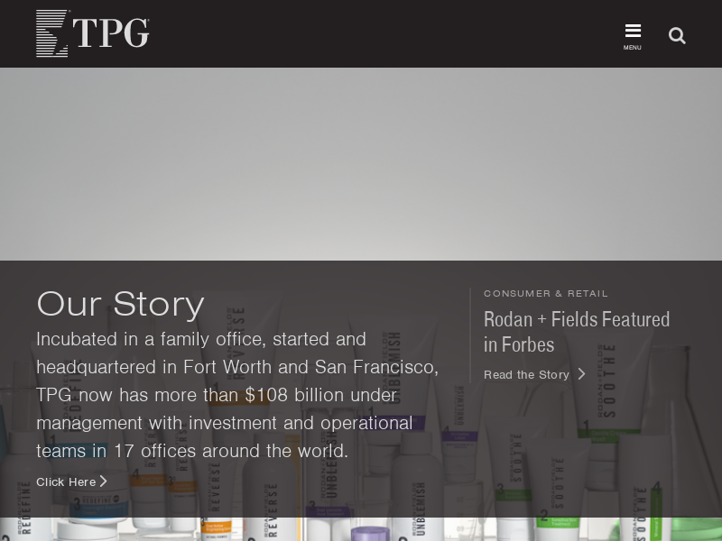 TPG | Leading Global Private Investment Firm